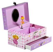 розовая детская шкатулка