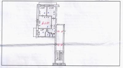 Продаю 3-комнатную квартиру в Темиртау, на 9-м этаже / 9-этажн. дом-свечка.  Торг.
