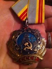 Орден Трудовой Славы 2 и 3 степени на доках ЛЮКС